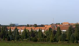 Danish town Fredericia Royalty Free Stock Image