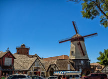 Danish town of Solvang in California Stock Image
