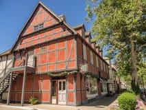 Danish town of Solvang in California Stock Photo