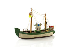 Danish toy boat Royalty Free Stock Photos