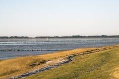 Danish Wadden sea national park Royalty Free Stock Photography