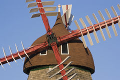 Danish Windmill Stock Photography