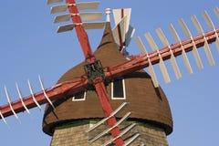 Danish Windmill Stock Photography