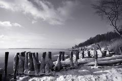 Danish winter stock image