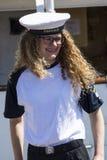 Danish woman seaman Stock Images