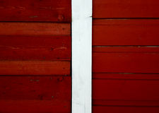 Danish Wooden Wall Stock Image