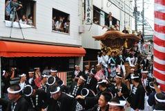 danjiri festiwalu kishiwada zdjęcia stock
