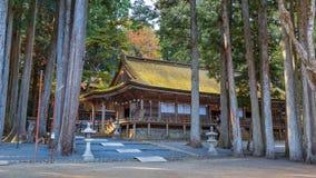 Danjo Garan Temple in Koyasan area in Wakayama Royalty Free Stock Images