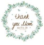 Dank u Mamma Stock Fotografie