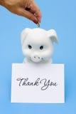 Dank u voor Besparing Royalty-vrije Stock Afbeeldingen
