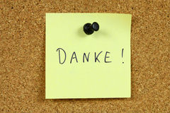 danke Στοκ Εικόνες