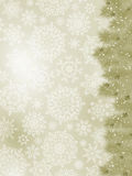 Danke, auf einer eleganten Weihnachtskarte zu kardieren ENV 8 Stockfotos