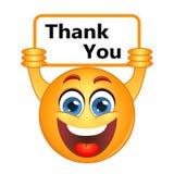 Danke dankt dem Ausdrücken der Dankbarkeitsanmerkung über ein Zeichen vektor abbildung