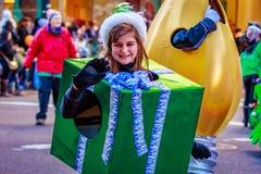 Danksagung Macy Parade 2015 stockfotos