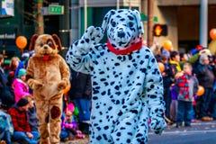 Danksagung Macy Parade 2015 stockfotografie
