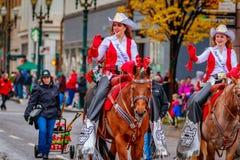 Danksagung Macy Parade 2016 lizenzfreie stockfotos