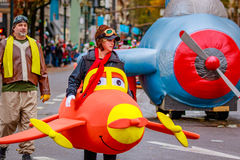 Danksagung Macy Parade 2016 stockfotografie