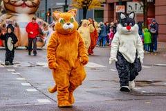 Danksagung Macy Parade 2016 lizenzfreie stockbilder