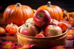 Danksagung und Halloween Stockfoto