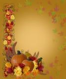 Danksagungs-Fall-Herbst-Rand