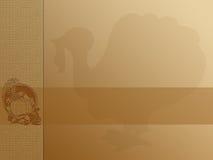 Danksagungs-Hintergrund Stockfotografie