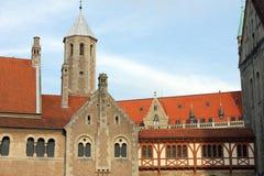 Dankwarderode城堡,布朗斯维克 免版税库存图片