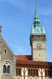 Dankwarderode slott, Brunswick Arkivbild