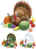 Dankzegging Turkije Royalty-vrije Stock Afbeelding