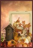Dankzeggings achtergrondgroetkaart en behang Stock Fotografie