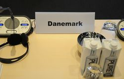DANMARK HOSTS_CONFEENCE AV EUROPARÅDET Fotografering för Bildbyråer