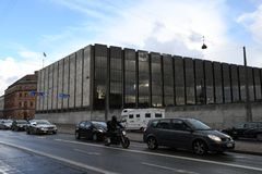 DANMARK ` S NATIONAL BANK royaltyfria bilder