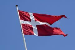 DANNEBORG_DANISH旗子 免版税库存照片