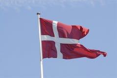 DANNEBORG DANISH FLAG Royalty Free Stock Photography