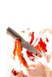 Danneggiato da un coltello Fotografia Stock Libera da Diritti