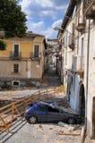 Danni della costruzione di terremoto Immagini Stock Libere da Diritti