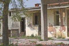 Danni di guerra in Croazia centrale Fotografie Stock