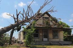 Danno di ciclone Immagine Stock Libera da Diritti
