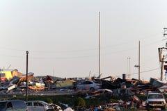 Danno di ciclone di Ringgod Georgia Fotografia Stock Libera da Diritti