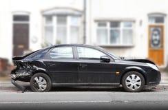 Danno di incidente stradale Immagine Stock