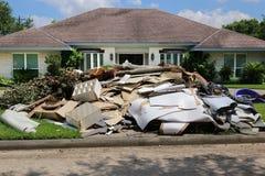 Danno di inondazione Fotografie Stock