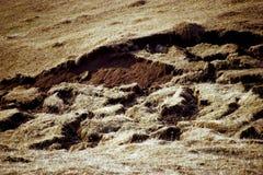 Danno di terremoto Fotografie Stock