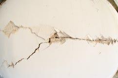 Danno di terremoto Immagini Stock