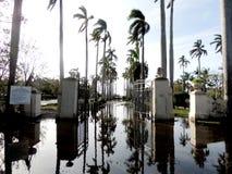 Danno Irma di uragano Fotografia Stock Libera da Diritti