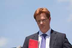Danny Alexander MP Royalty Free Stock Photo