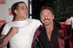 Danny Bonaduce, Gene Simmons, Jeffrey Ross, Steve O, Steve-O Stock Photos