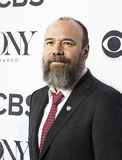 Danny Burstein. Actor Danny Burstein arrives at the 70th Annual Tony Awards Meet the Nominees press reception at the Diamond Horseshoe of the Paramount Hotel in Stock Photography