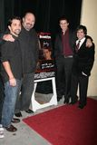 Danny Cistone,James Madio,Robert Costanzo,Ronnie Marmo. James Madio and Robert Costanzo with Ronnie Marmo and Danny Cistone  at the world premiere of 'West Of Stock Images