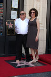 Danny De Vito,  Rhea Perlman Royalty Free Stock Photo