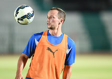 Danny drinkwater of Leicester City Stock Images