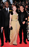 Danny Glover, Gael Garcia Bernal, Julianne Moore Stock Photo